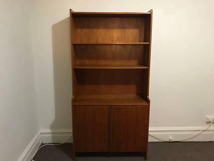 Midcentury modern retro bookshelf in excellent condition