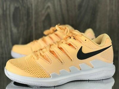 799a6975bef6 NIKE Court Women Tennis Shoes Air Zoom Vapor X Size 9.5 Tengerine Tint  AA8027