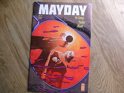 IMAGE Mayday graphic comic issue #2 /5 Dec 2016 NEW!! Alex De Campi Parker Blond
