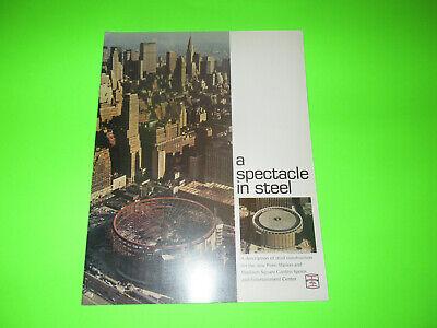 Vintage Bethlehem Steel A Spectacle In Steel Booklet Brochure