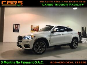 2017 BMW X6 xDrive35i| NAVIGATION| PEDESTRIAN WARNING