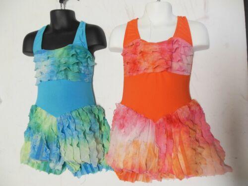 Dance Costume Latin Flair Skort Dress 2 colors offrd Ch/ladies tap romper