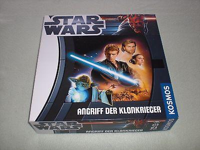 Star Wars Angriff der Klonkrieger - Starwars - Kosmos Brettspiel mit Figuren