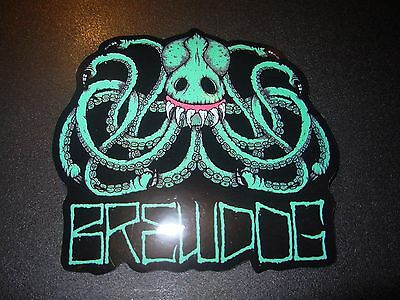 Brewdog Brew Dog Octopus Hardcore Punk Logo Sticker Decal Craft Beer Brewery