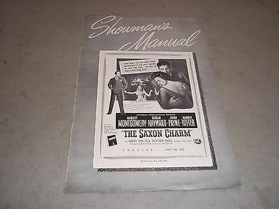 1948 THE SAXON CHARM MOVIE PRESS BOOK ROBERT MONTGOMERY & SUSAN HAYWARD - P 42