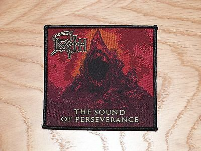 DEATH - THE SOUND OF PERSEVERANCE (NEW) SEW ON W-PATCH OFFICIAL BAND MERCH