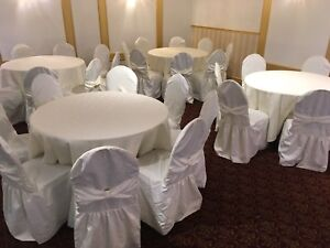 Wedding decor and chair covers for sale