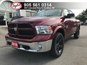2018 Ram 1500 Outdoorsman Crew 4x4 V8 w/Navigation, Heated Seats