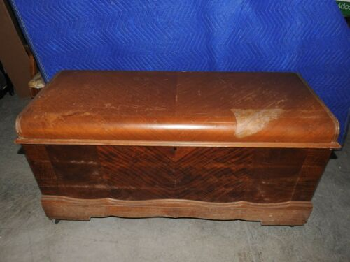 CASWELL RUNYAN WATERFALL CEDAR CHEST