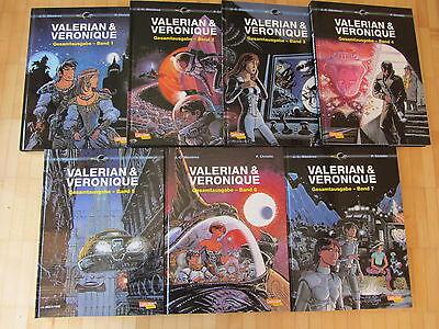 Valerian & Vernoique Gesamtausgabe 1,2,3,4,5,6,7 komplett   Carlsen Neuware