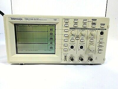 Tektronix Tds 210 - 2 Channel Digital Real-time Oscilloscope 60mhz 1gss