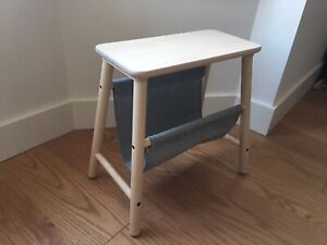 IKEA side table with magazine rack - excellent condition