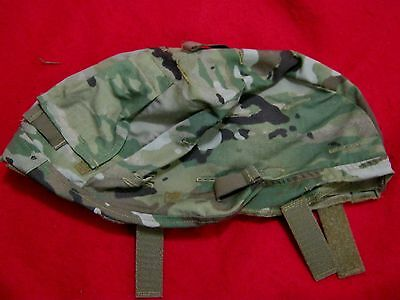 ACH MICH ARMY COMBAT HELMET COVER MULTICAM SM MED NVG FLAP NO IR TABS