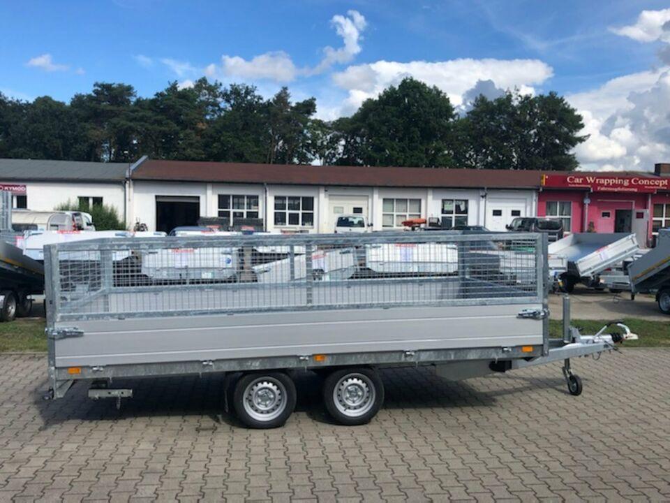 ⭐Saris Pritsche PL 406 204 3500 2 Achsen Laubgitter NEU in Schöneiche bei Berlin