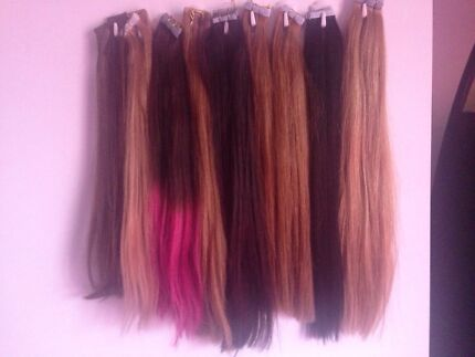 Tape hair extensions $260 Old Beach Brighton Area Preview
