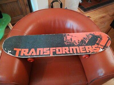 Circa 2010 Transformers 3 Skateboard MV Sports double kicktail maple deck 79cm