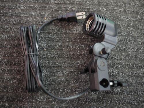 Photography Photo Light Lamp bulb Single Holder E27 Socket Bracket Studio