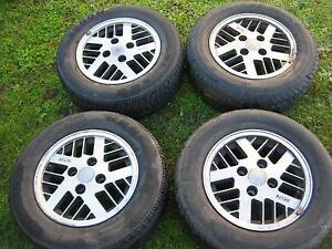 "Classic Nissan/Datsun 14"" Wheels with tyres Port Kembla Wollongong Area Preview"