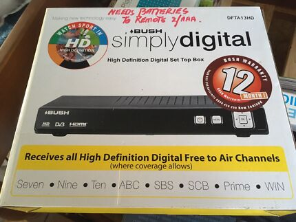 High Definition Set Top Boxes