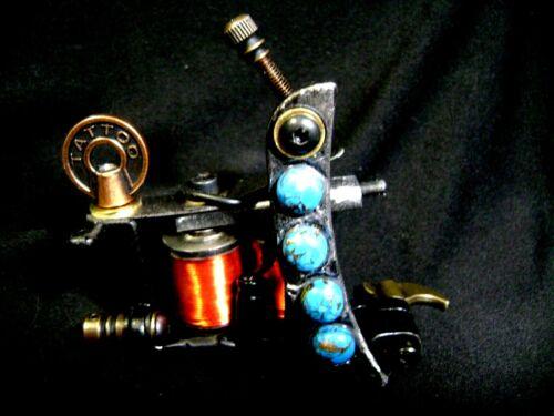 Custom  Tattoo Machine.....Awesome Color Packer!