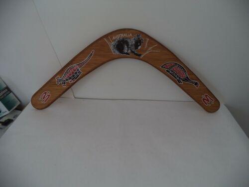 "Authentic Australian Boomerang HAND PAINTED 17"" ACROSS"