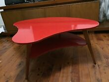Retro Kidney Coffee Table - Mid Century Danish Eames Style Lilyfield Leichhardt Area Preview