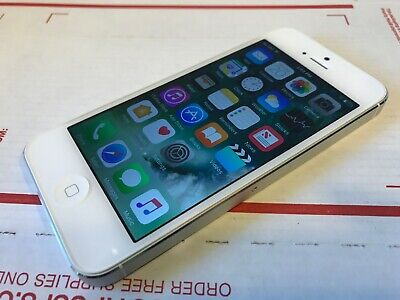 Apple iPhone 5 32GB - White & Silver (Softbank Japan) A1429 - Great Cond - Works