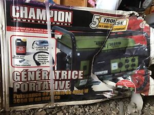 Portable generator for home, cottage, RV