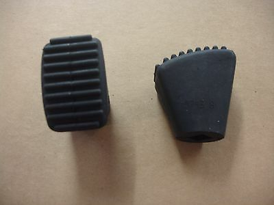 2 New Ludwig Rubber Tips for Large Arched Bass Drum Spurs, Feet, Worldwide Ship