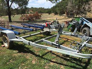 Double JetSki trailer/ boat trailer Brukunga Mount Barker Area Preview
