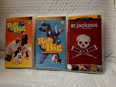 Rob & Big Vol. 1 & Vol. 2- Jackass Volume 2  (UMD, PSP)