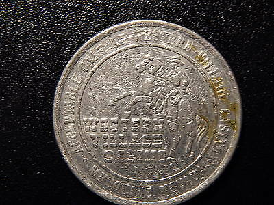 WESTERN VILLAGE CASINO MESQUITE NEVADE GAMING GAMING TOKEN  JJ05DXX ()
