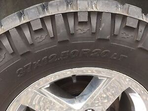 "37x12.5x20"" Nitto mud grappler"
