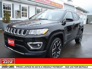2017 Jeep Compass you're approved $101.74 a week tax inc. Limite