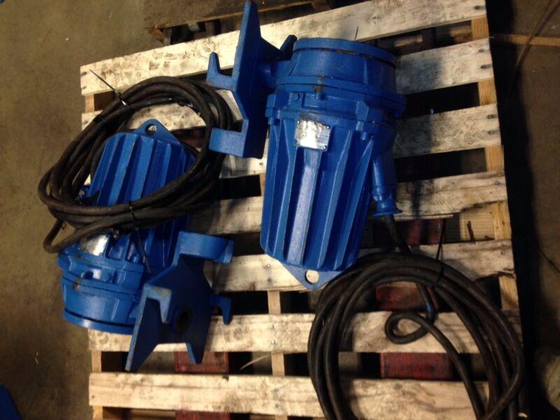 ABS Pumps Piranha Submersible Grinder Pump
