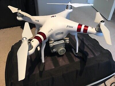 DJI Phantom 3 Standard Quadcopter Drone w/ Extras. Used -  Low # of flights