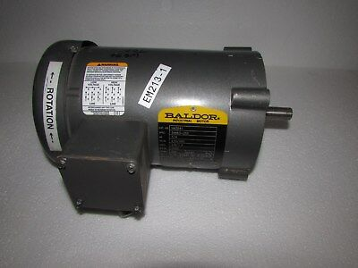 Baldor Electric Motor Vm3541 Very Clean 34 Hp G4