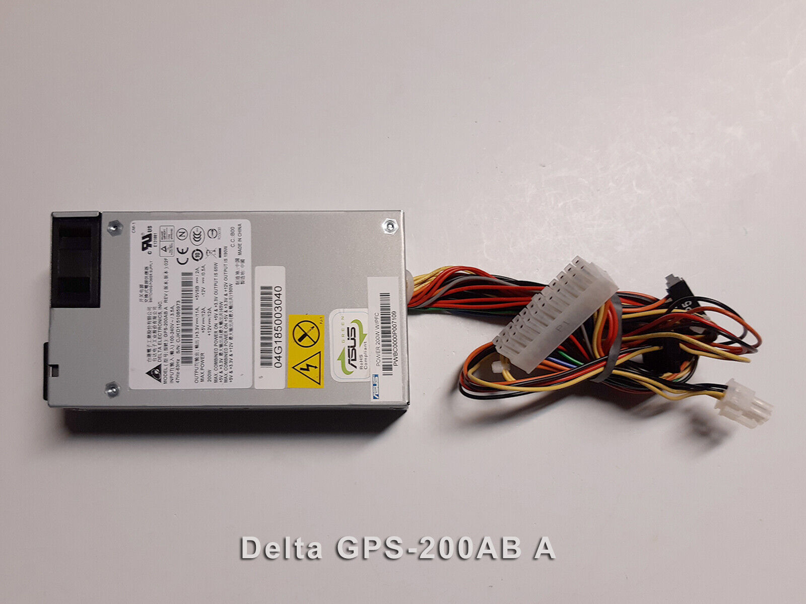 Alimentation pc delta electronics gps-200ab a asus power 200w w/ffc