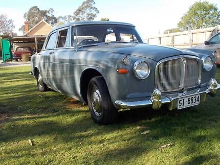 1964 Rover 3 Litre Elizabeth Town Meander Valley Preview