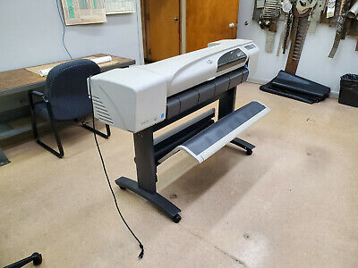 Hp Designjet 500ps 42 Wide Format White Printer Plotter...good Condition
