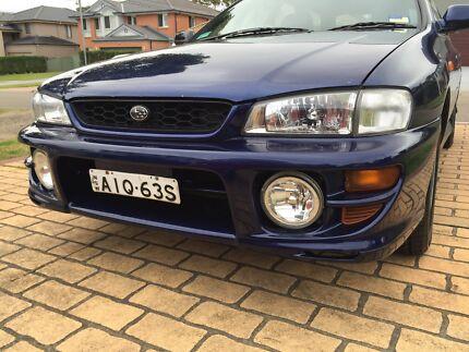 2000 Subaru Impreza RX Rydalmere Parramatta Area Preview
