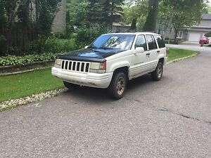 1996 JEEP GRAND CHEROKEE LIMITED - 4X4 - PNEUS HIVER