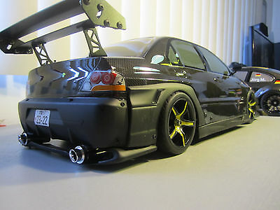 Mitsubishi Evo Widebody Custom Scale Remote Control Onroad