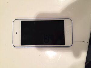 iPod 5 blue