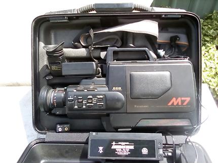 Vhs video camera