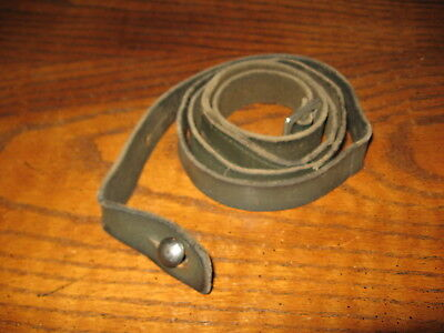 used finnish green leather m39 mosin nagant rifle sling suomi military