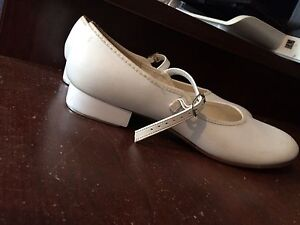 White Tap Dancing Shoes