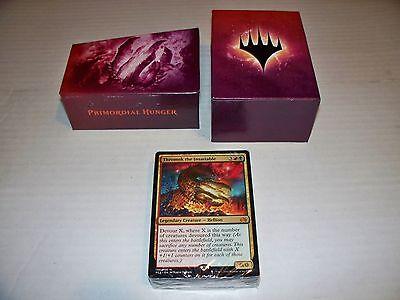 - MTG Magic Primordial Hunger Planechase Anthology Sealed Deck w/ Box Red/Green