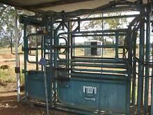 Warwick Hydraulic Cattle Crush Biloela Banana Area Preview
