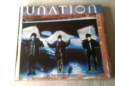 Unation   Do You Believe In Love    4 Mix Promo Cd Single